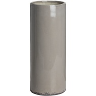 Ceramic dark grey umbrella stand