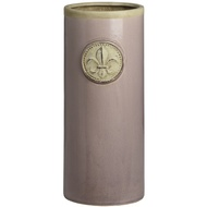 Ceramic dusky pink umbrella stand