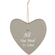 All You Need Is Love Large Hanging Heart