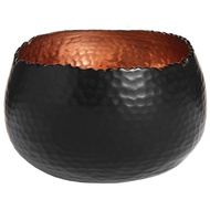 Copper and Black display Bowl