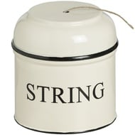 Jute String Round top Tin