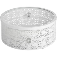 Large White Jewellery/storage box
