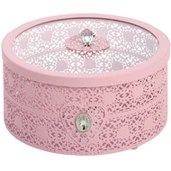 Light pink jewellery/storage box