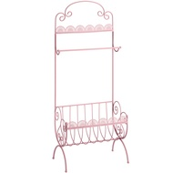 Ornate Pink towel rail