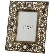 Antique Gold Effect Photo Frame