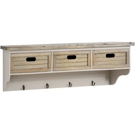 The Studley Collection 3 Basket Wall Unit