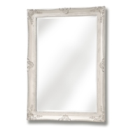 White Antique French Vintage Style Mirror
