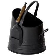 Coal  Bucket  With  Shovel