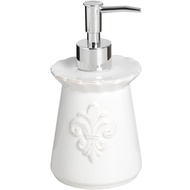 White Ceramic Soap Dispenser