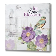 Let Love Blossom Canvas