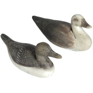 Set of 2 Resin Ducks