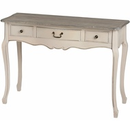 Manor House 3 Drawer Console Table