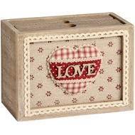 Box Style Photo Album With Love Wording
