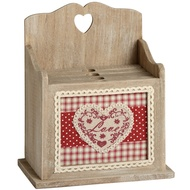Box Style Photo Album With Heart Design Holder