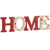 Fabric Home Letters Ornament