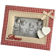 Photo Frame With Fabric Frame With Love Letters