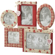 Fabric Multi Photo Frame