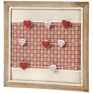 Soft Hearts Peg Board