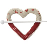 Heart Curtain Tidy
