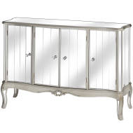Argente Mirrored Four Door Sideboard