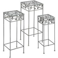 Set  Of  3  Square  Tables