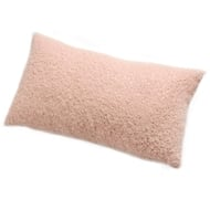 Square pink cushion with gold flecks
