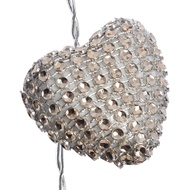 Sparkly Heart String Lights