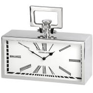 Silver Pocket Watch Clock