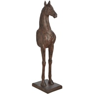 large horse sculpture - front half