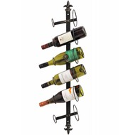 6  Bottle  Wine  Wall  Rack
