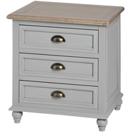 Churchill Collection Three Draw Bedside