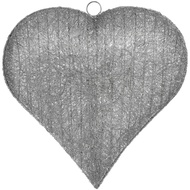 Large Handcrafted Hanging Heart Light