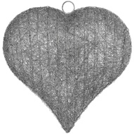 Medium Handcrafted Hanging Heart Light
