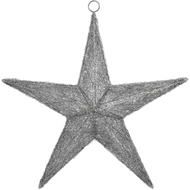 Medium Handcrafted Hanging Star Light