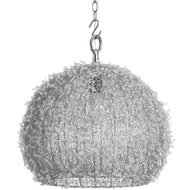 Handcrafted Beaded Spherical Ceiling Pendant