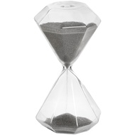 Grey Hexagonal Glass Timer
