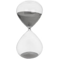 Grey Hour Glass Timer
