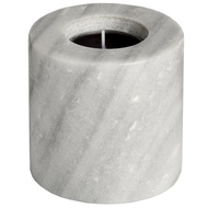 Grey Marble Tea Light Holder