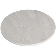 Grey Round Marble Chopping Board