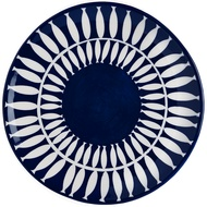 Blue And White Nautical Plate