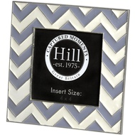 Ceramic Chevron Detailed Photo Frame 4 x 4