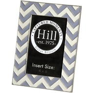 Ceramic Chevron Detailed Photo Frame 4 x 6