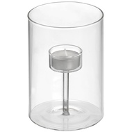 Tall Single Glass Tealight Holder