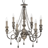 Versailles Six Light chandelier