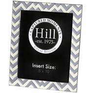 Chevron Detail Ceramic 8x10 Photo Frame