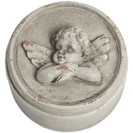 Cherub with Folded Arms Trinket Box