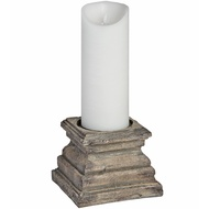 Antique Column Head Candle Holder