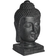 Rustic Meditating Buddha Head