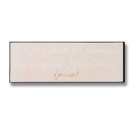Flamingos Gold Foil Plaque