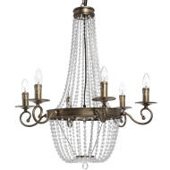 Antique Gold Venetain Chandelier